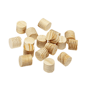 Pine Plugs, bag with 100 units